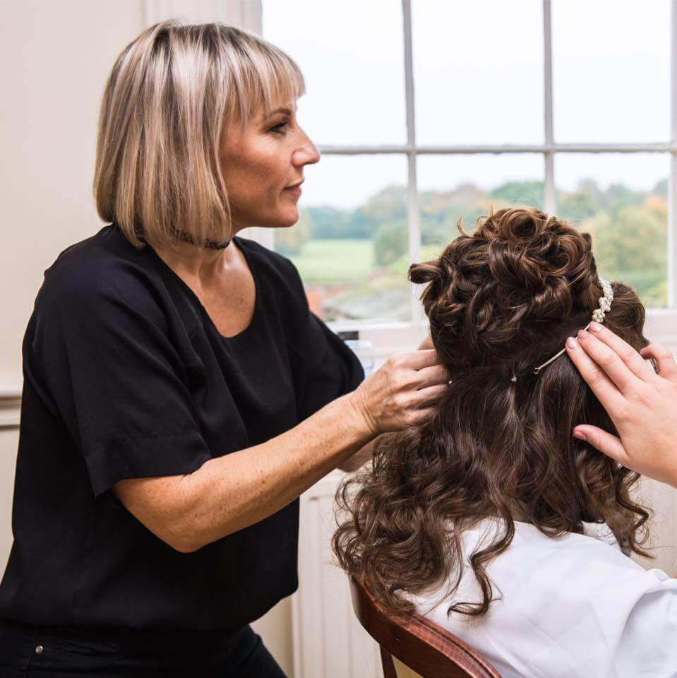 Karen Clarke Wedding Hair Hampshire